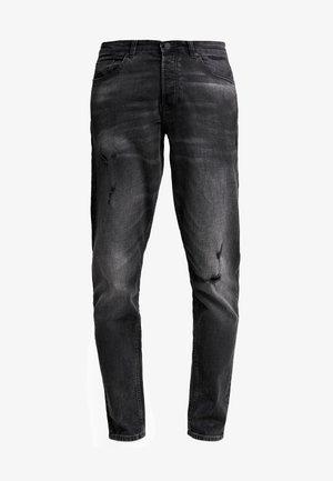 ONSAVI WASHED - Jeans Tapered Fit - black denim