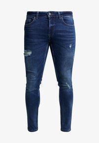 Only & Sons - ONSWARP DETROY  - Jeans Skinny Fit - blue denim - 4