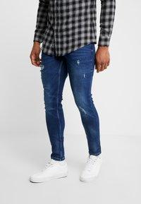 Only & Sons - ONSWARP DETROY  - Jeans Skinny Fit - blue denim - 0