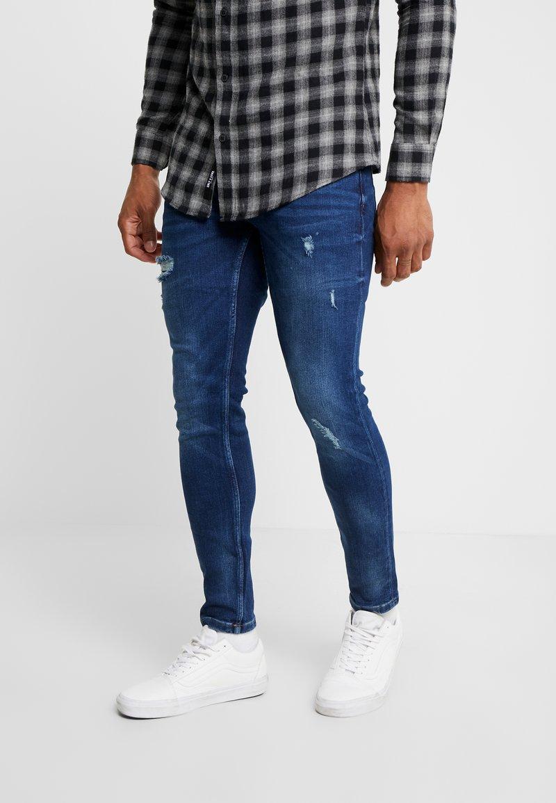 Only & Sons - ONSWARP DETROY  - Jeans Skinny Fit - blue denim