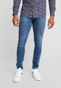 Only & Sons - ONSLOOM WASHED  - Džíny Slim Fit - blue denim - 0