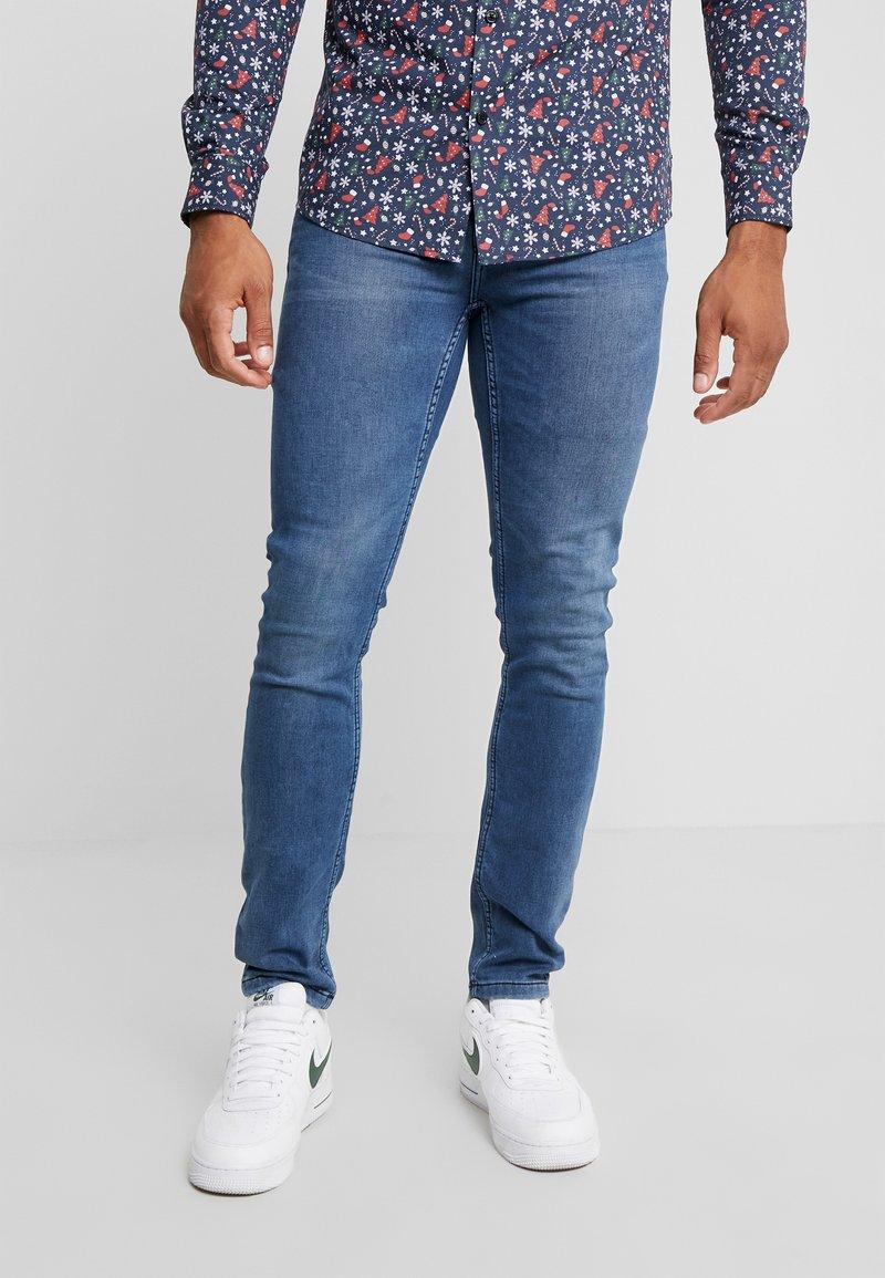 Only & Sons - ONSLOOM WASHED  - Slim fit jeans - blue denim