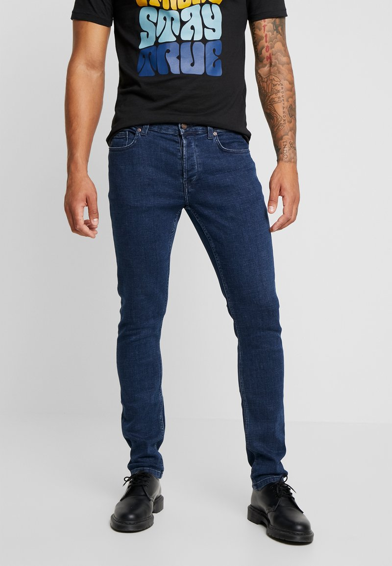 Only & Sons - ONSLOOM WASHED - Džíny Slim Fit - blue denim