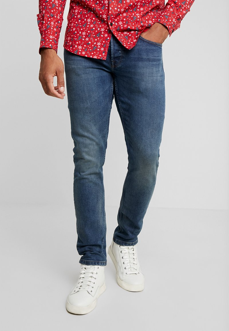 Only & Sons - ONSWEFT - Slim fit jeans - blue denim
