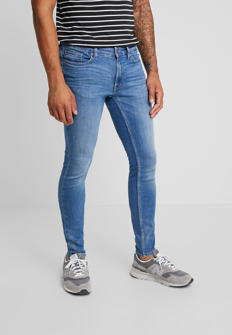 Only & Sons - ONSWARP - Jeans Skinny Fit - blue denim