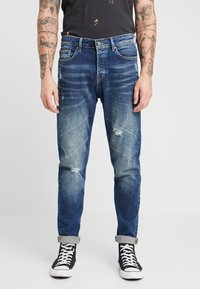 Only & Sons - ONAVI DAMEGDE BLUE - Jeansy Zwężane - blue denim - 0