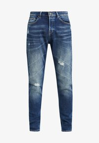 Only & Sons - ONAVI DAMEGDE BLUE - Jeansy Zwężane - blue denim - 4