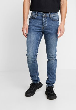 ONSLOOM BLUE  - Jeansy Slim Fit - blue denim