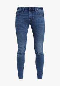 Only & Sons - ONSWARP SKINNY BLUE CROP - Jeans Skinny Fit - blue denim - 4