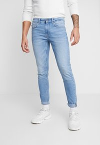 Only & Sons - ONSWARP SKINNY - Skinny-Farkut - blue denim - 0