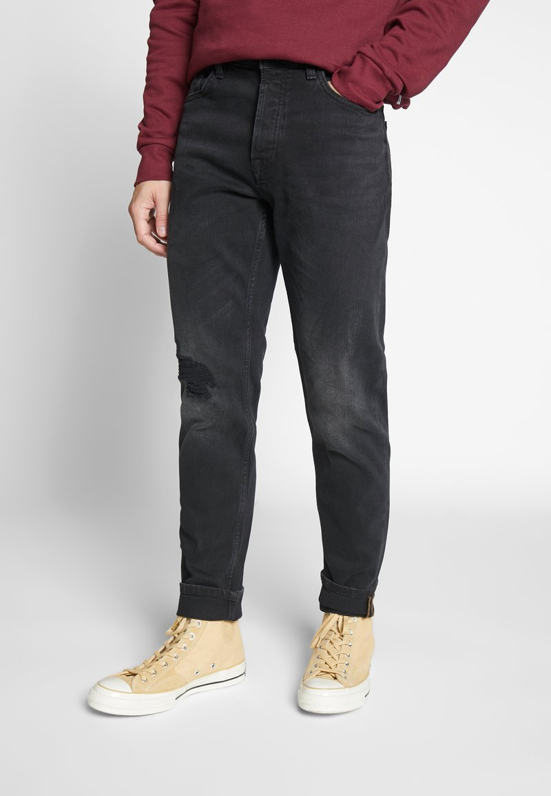 Only & Sons - ONSAVI TAP - Jeans Tapered Fit - black denim