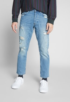 ONSWEFT REG CROP   - Jean droit - blue denim