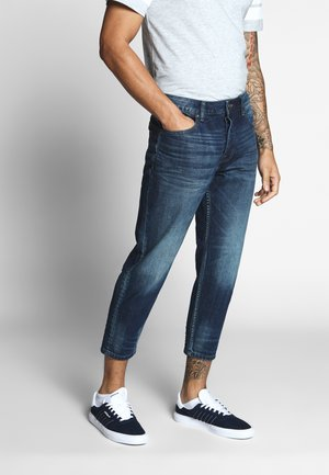 ONSAVI BEAM TAP CROP - Jeans Tapered Fit - blue denim