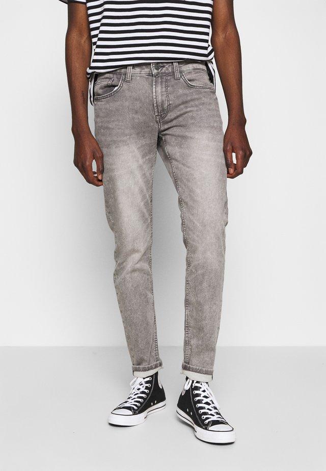 ONSLOOM ZIP  - Slim fit -farkut - grey