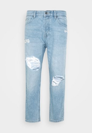 ONSAVI BEAM TAP CROP  - Jeans Relaxed Fit - blue denim