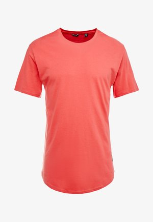 ONSMATT LONGY TEE - T-shirts - cranberry