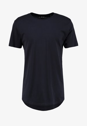 ONSMATT LONGY TEE - Basic T-shirt - dark navy