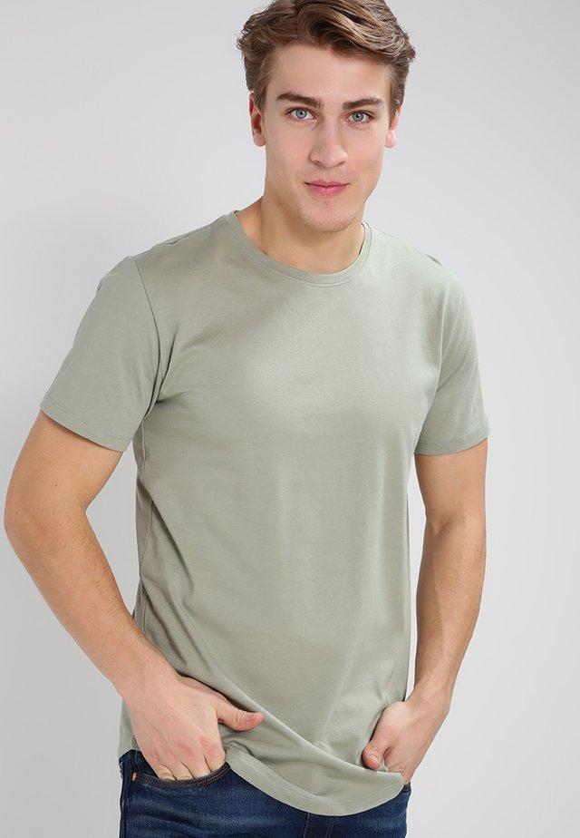 ONSMATT LONGY TEE - Basic T-shirt - seagrass