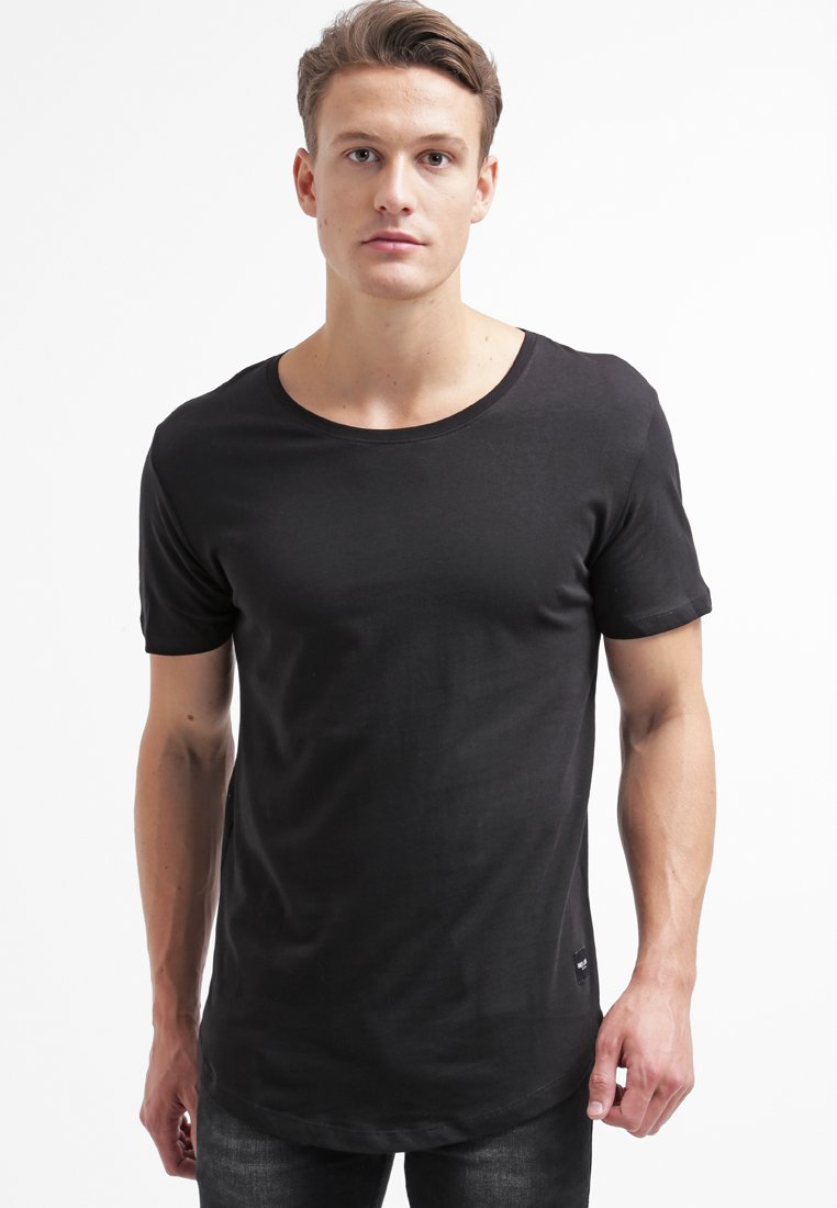 Only & Sons - ONSMATT LONGY TEE - T-shirt - bas - black