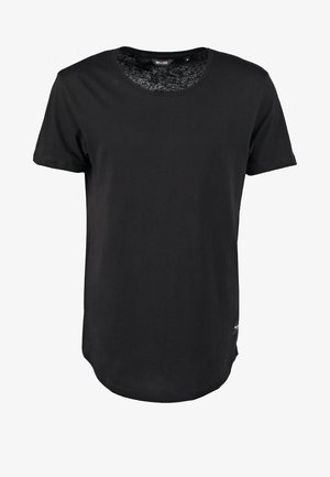 ONSMATT LONGY TEE - T-shirt basic - black