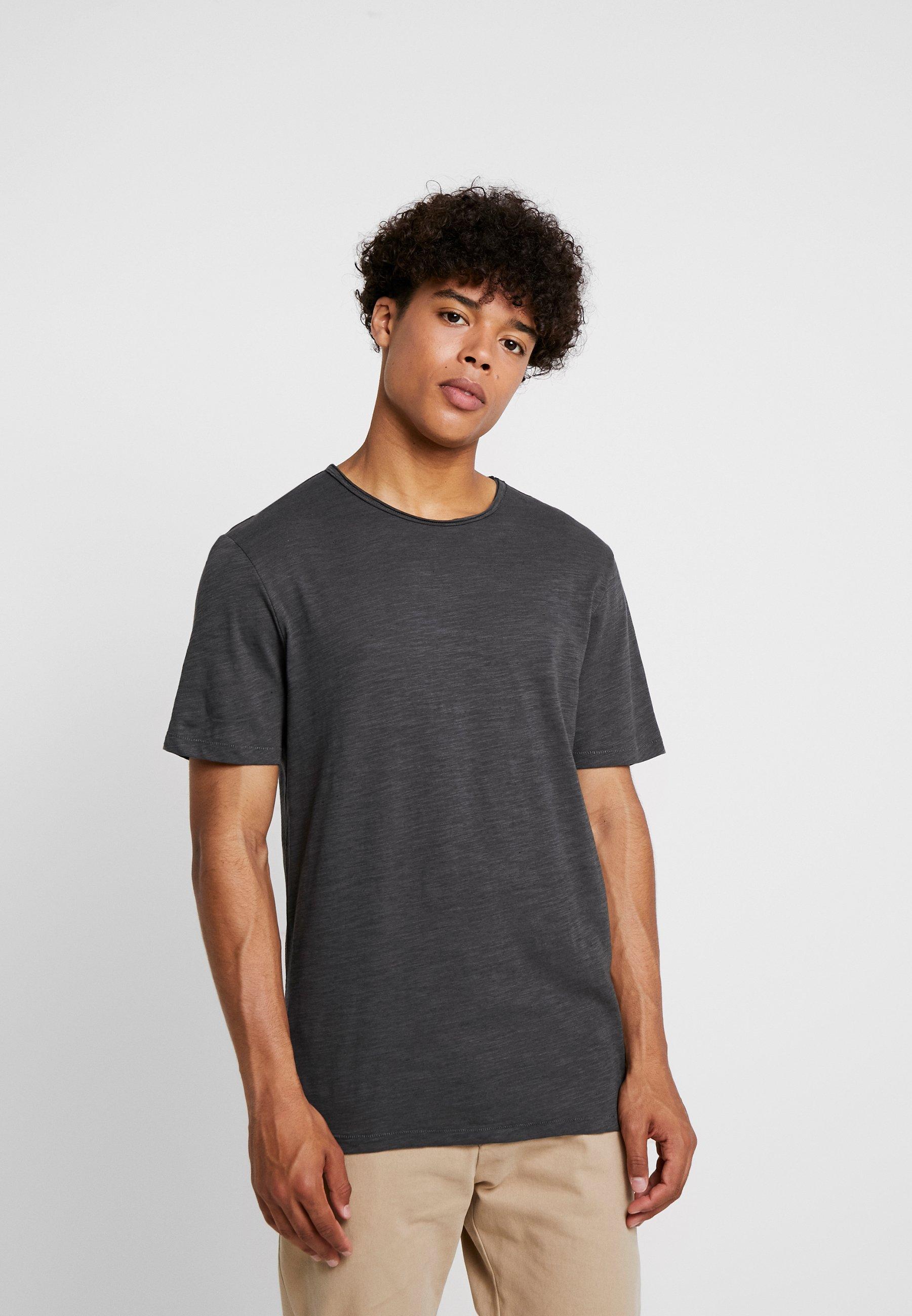 Only & Sons ONSALBERT LIFE NEW TEE - T-shirt basic - dark grey melange