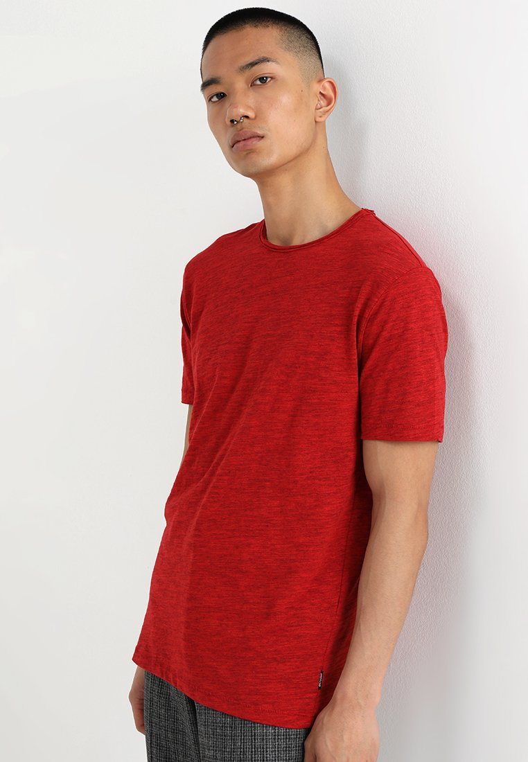 Only & Sons - ONSALBERT LIFE NEW TEE - Jednoduché triko - pompeian red