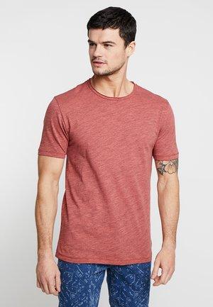 ONSALBERT LIFE NEW TEE - T-shirt basic - cranberry