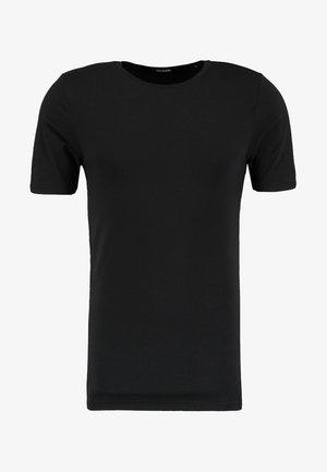 ONSBASIC O-NECK SLIM FIT - T-paita - black