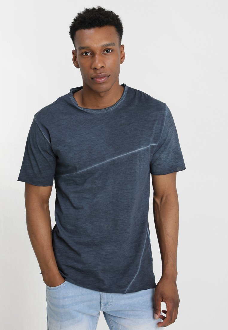 Only & Sons - ONSSTEWIE SLUB TEE - Basic T-shirt - blue nights