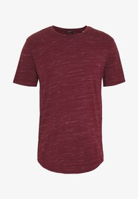 Only & Sons - ONSMATTY LONGY TEE - Triko s potiskem - dark red - 4
