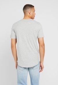 Only & Sons - ONSMATT LONGY 7 PACK - T-shirt basic - white/cabernet melange/forest night melange - 2