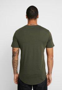Only & Sons - ONSMATT LONGY 7 PACK - T-shirts - dark blue/bordeaux/khaki - 2