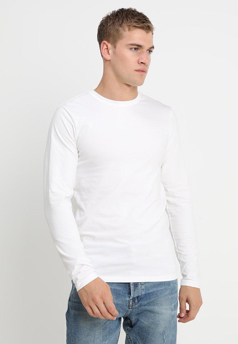 Only & Sons - ONSBASIC SLIM TEE - Top sdlouhým rukávem - white