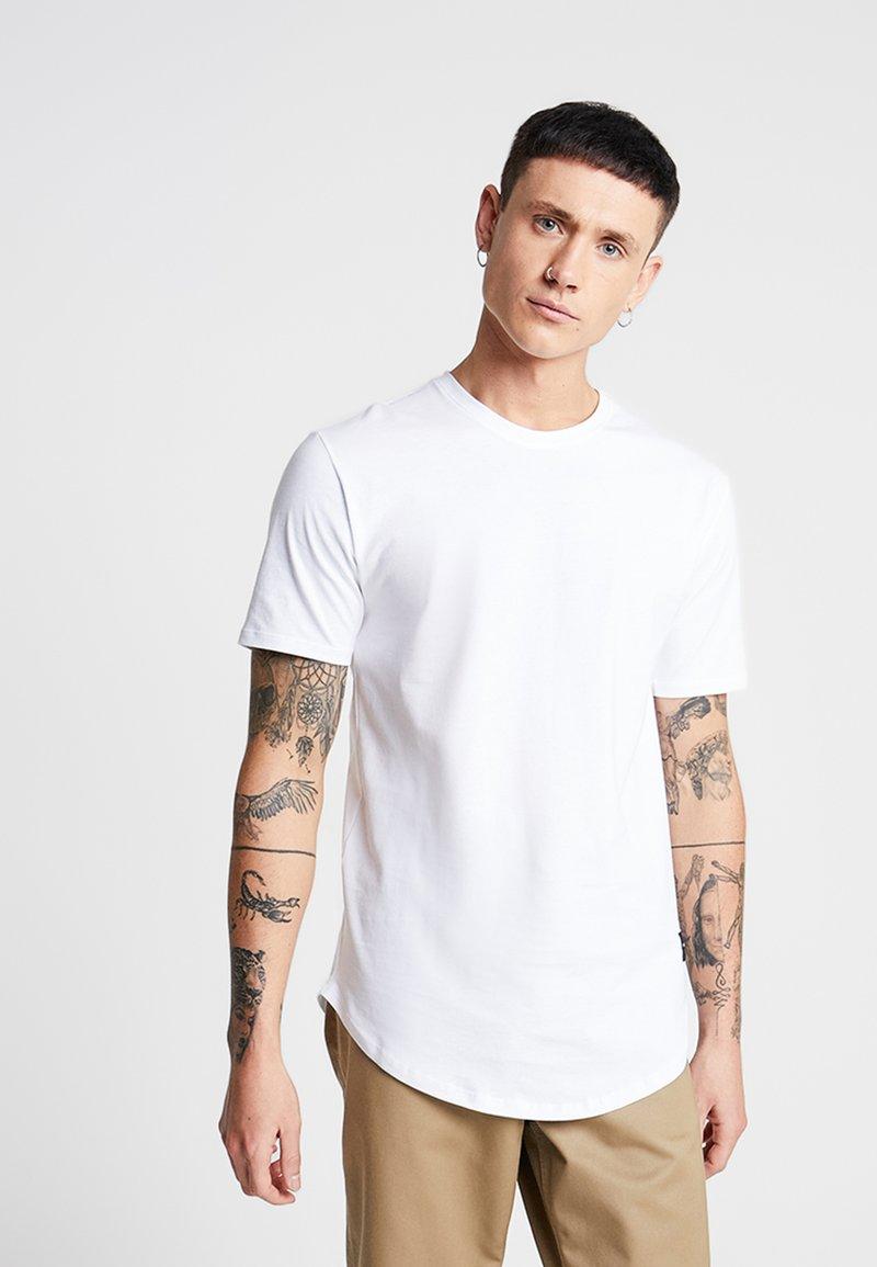 Only & Sons - ONSMATT LONGY 2 PACK - T-Shirt basic - white