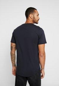 Only & Sons - ONSMATT LONGY 2 PACK - T-shirt basic - dark navy - 2