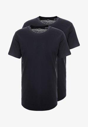 ONSMATT LONGY 2 PACK - T-shirt - bas - dark navy