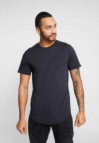 Only & Sons - ONSMATT LONGY 2 PACK - T-shirt basic - dark navy - 1