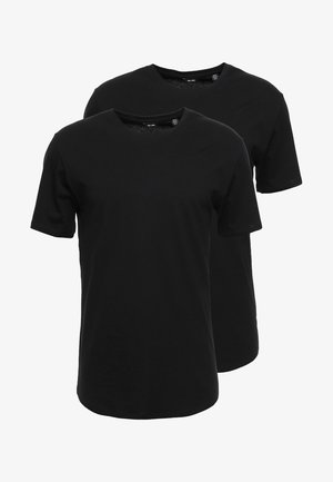 ONSMATT LONGY 2 PACK - T-shirt basic - black