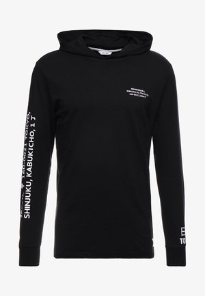 ONSWF DEAN TEE HOODIE  - Jersey con capucha - black