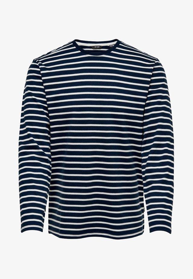 Pitkähihainen paita - dress blues