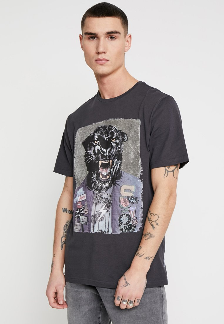 Only & Sons - ONSLORIS FUNNY TEE - Print T-shirt - phantom