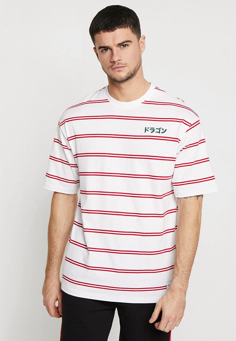 Only & Sons - ONSJAMES BOXY TEE - T-Shirt print - white
