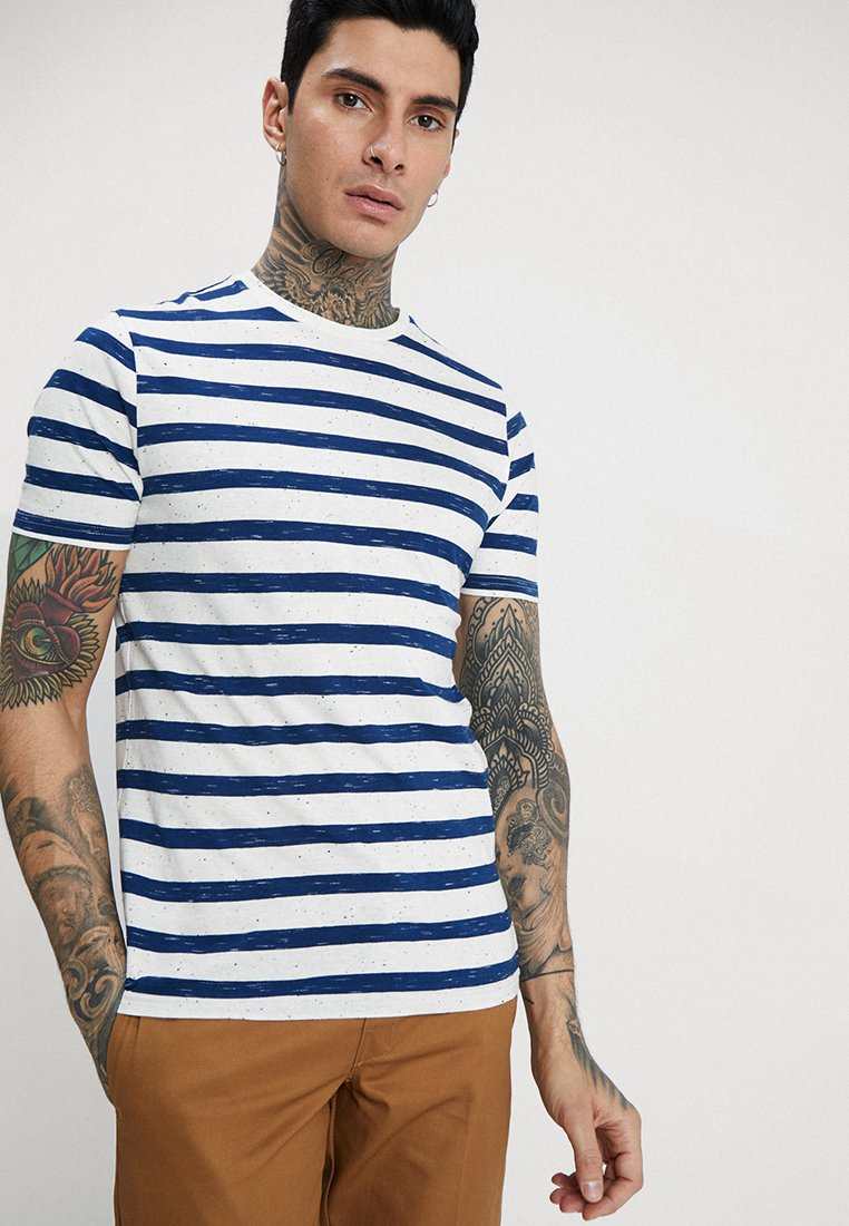 Only & Sons - ONSELKY   - Print T-shirt - dress blues