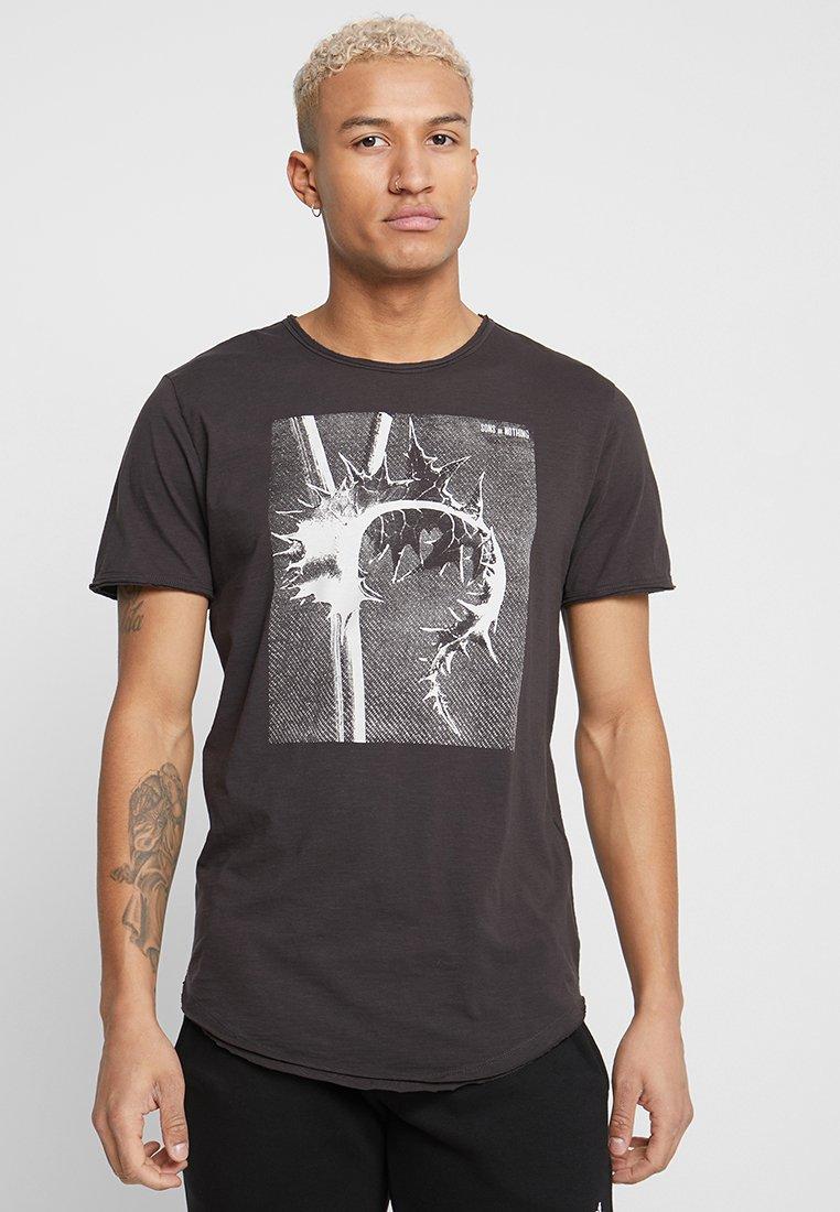 Only & Sons - ONSMATT  - Print T-shirt - phantom