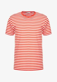 Only & Sons - ONSJAMIE LIFE SS STRIPE REG TEE NOO - Printtipaita - high risk red - 4