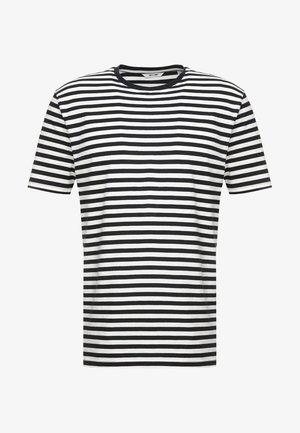 ONSJAMIE LIFE SS STRIPE REG TEE NOO - Camiseta estampada - dark navy