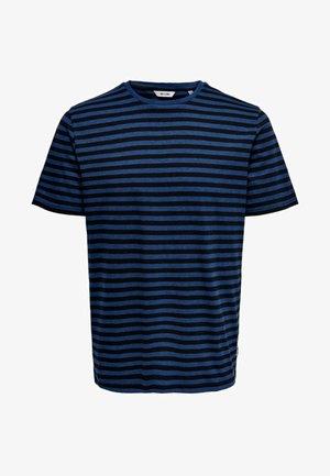 ONSJAMIE  - T-Shirt print - estate blue