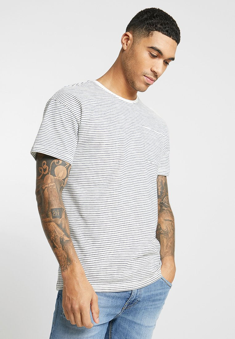 Only & Sons - ONSPHIL DROP SHOULDER TEE  - T-shirt con stampa - cloud dancer