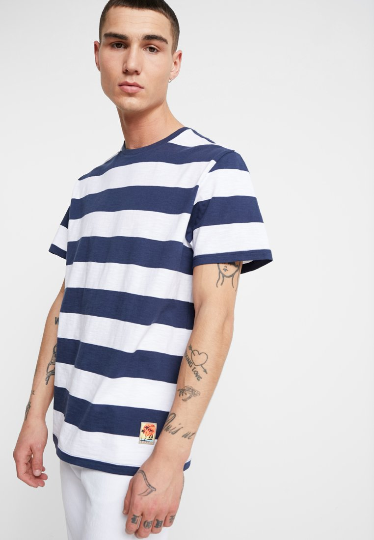 Only & Sons - ONSPATTERSON - Print T-shirt - dress blues