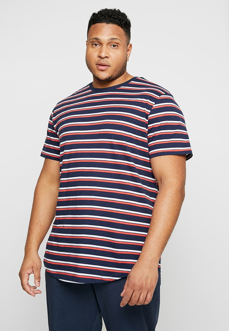 Only & Sons - ONSPALATINE LONGY TEE - T-Shirt print - dress blues